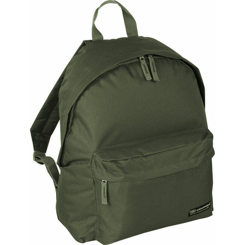 HIGHLANDER ZING DAYSACK BAG 20L PADDED RUCKSACK BASIC EVERYDAY