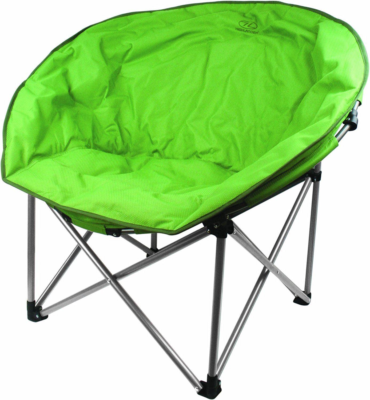 Highlander Deluxe Lune rembourré chaise de camping loisir pêche