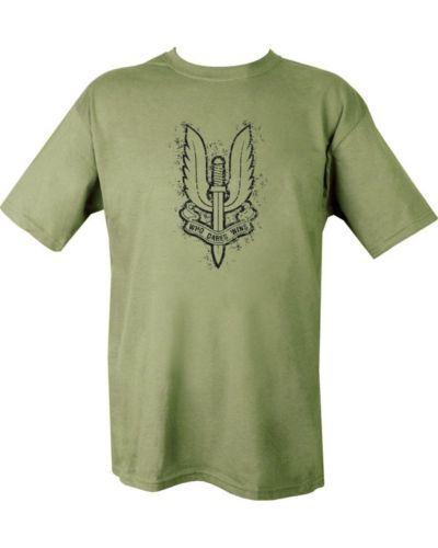 Kombat SAS Logo Large T-Shirt