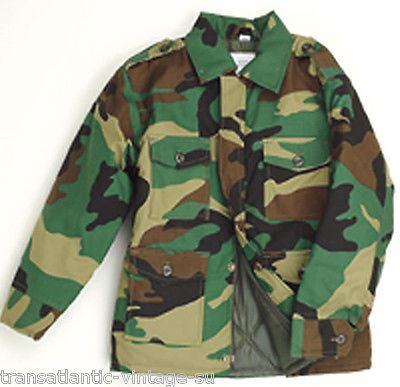 TOP GUN KIDS CHILDREN MILITARY COMBAT FIELD JACKET CAMOUFLAGE SOLID ARMY UNIFORM