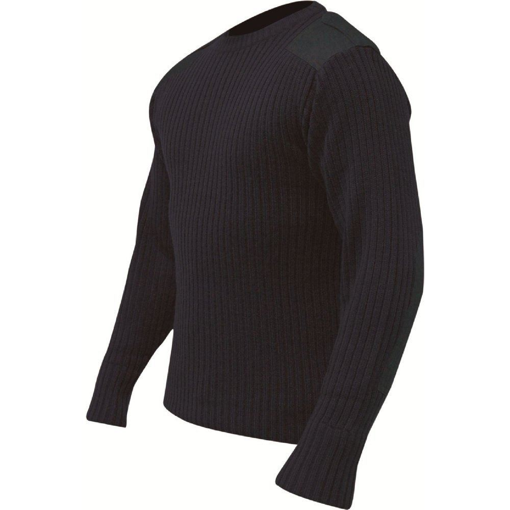 HIGHLANDER CREW NECK PULLOVER MILITARY FORCES TACTICAL SECURITY ACRYLIC SWEATER