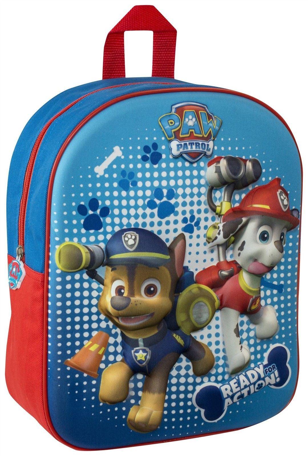3D Character Design School Bag For Childrens