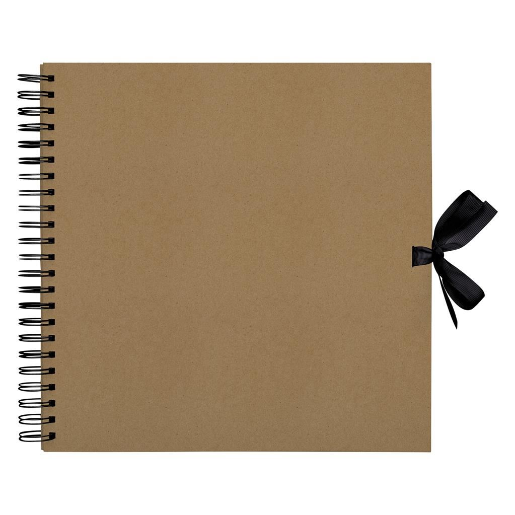 Embellishments *OFFER* Papermania Kraft Foiled Scrapbook Journal Albums