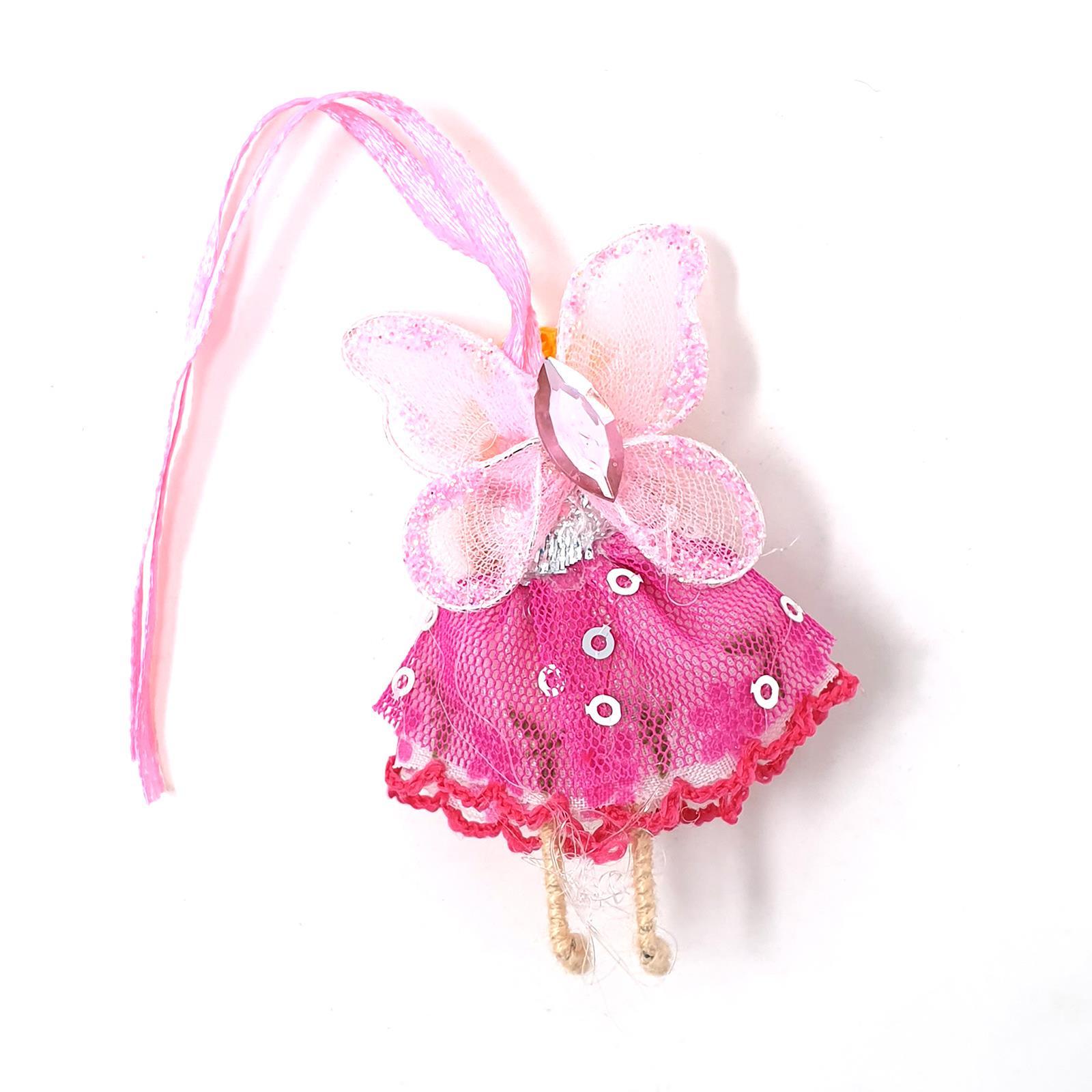 Fair Trade Wishing Fairies Cute Little Hanging Fairy Doll With Ribbon /& Bag