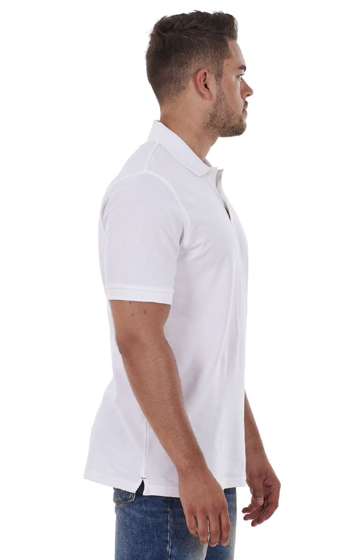 Men/'s ex faMouS store Pure Cotton Plain Top Short Sleeve Polo Tee T-Shirt