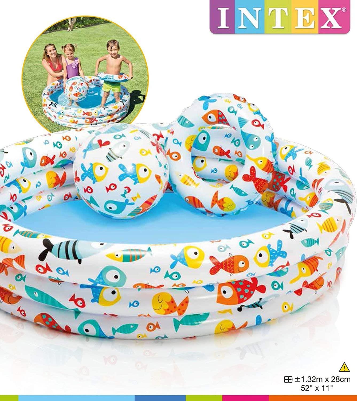 INTEX Kids Children Toddler Swimming Outdoor Garden Pools Water Splash Fun