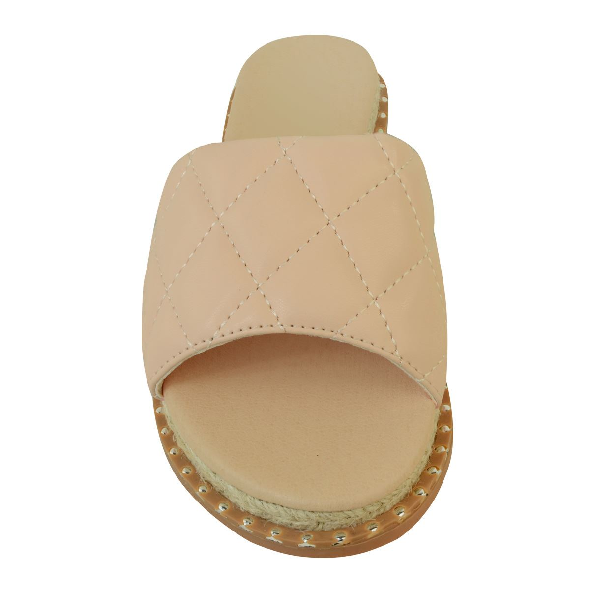 Da Donna Piatto CURSORI Mocassini Espadrillas Imbottito Comfort Sandali Pantofole Estate