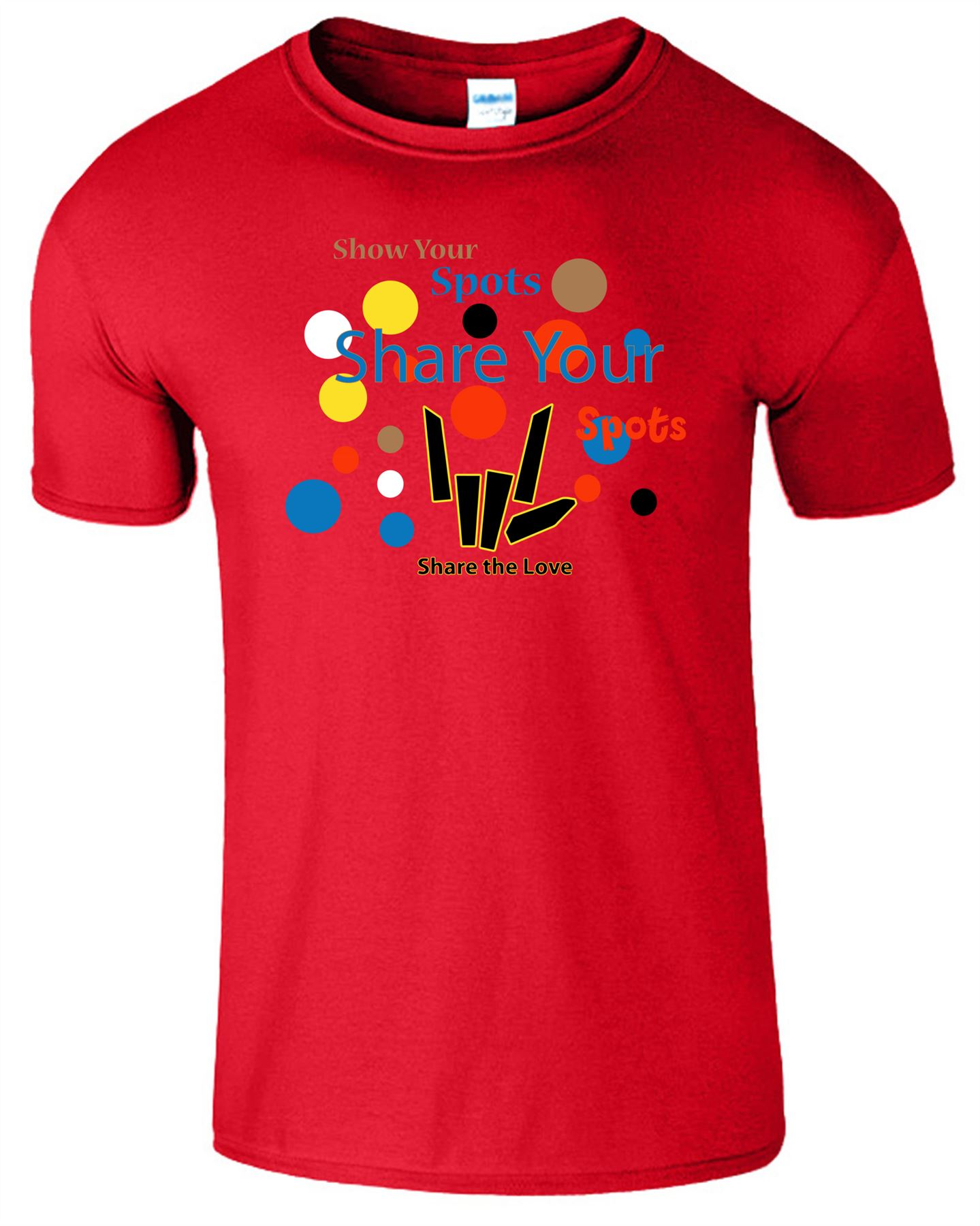 Mens Ladies Colorfull Logo TShirt Children Boys Girls Tee Top T-Shirt All Sizes