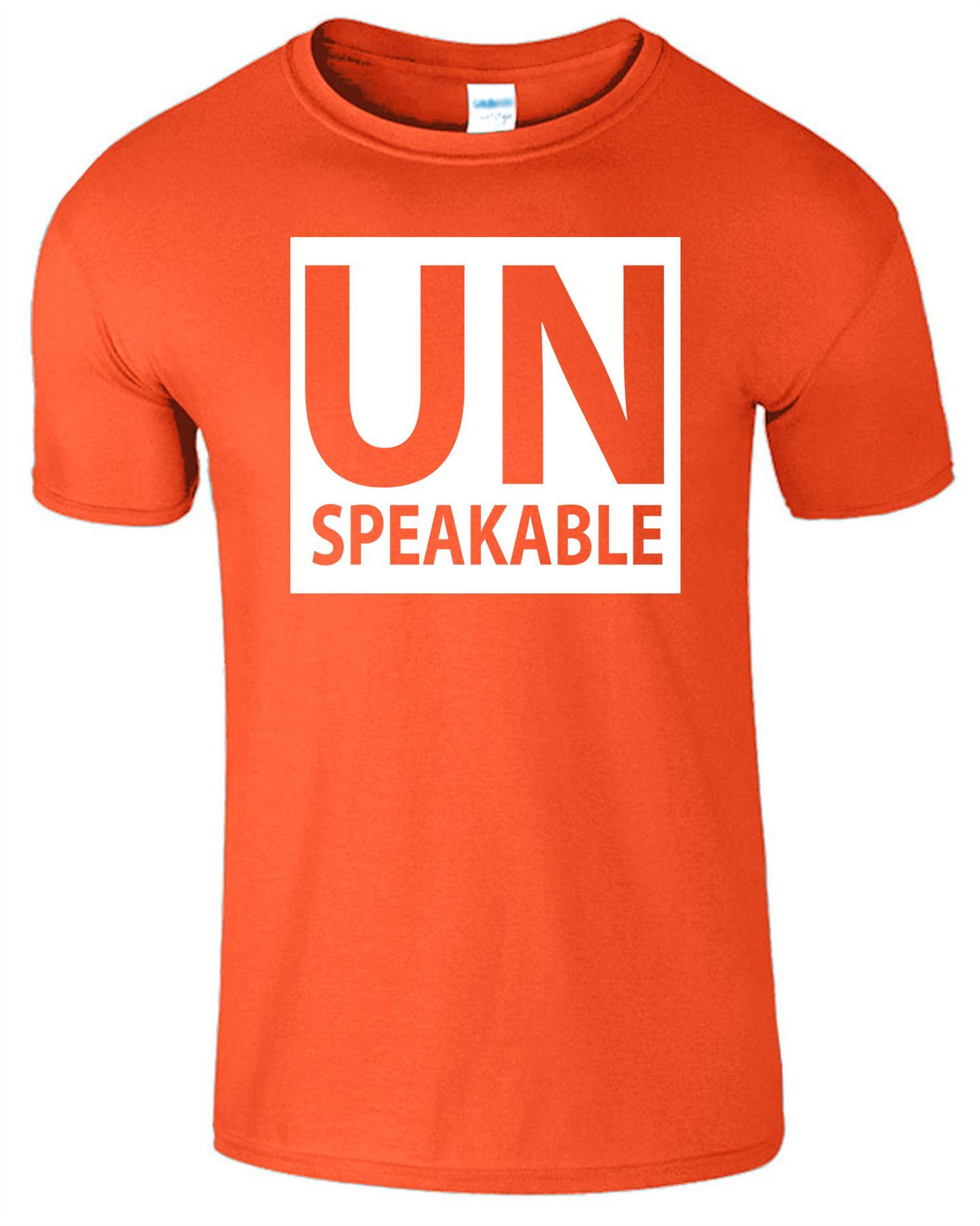 Unspeakable Mens T-Shirt Gaming Youtuber Vlog Short Sleeve Gift Top Tshirt