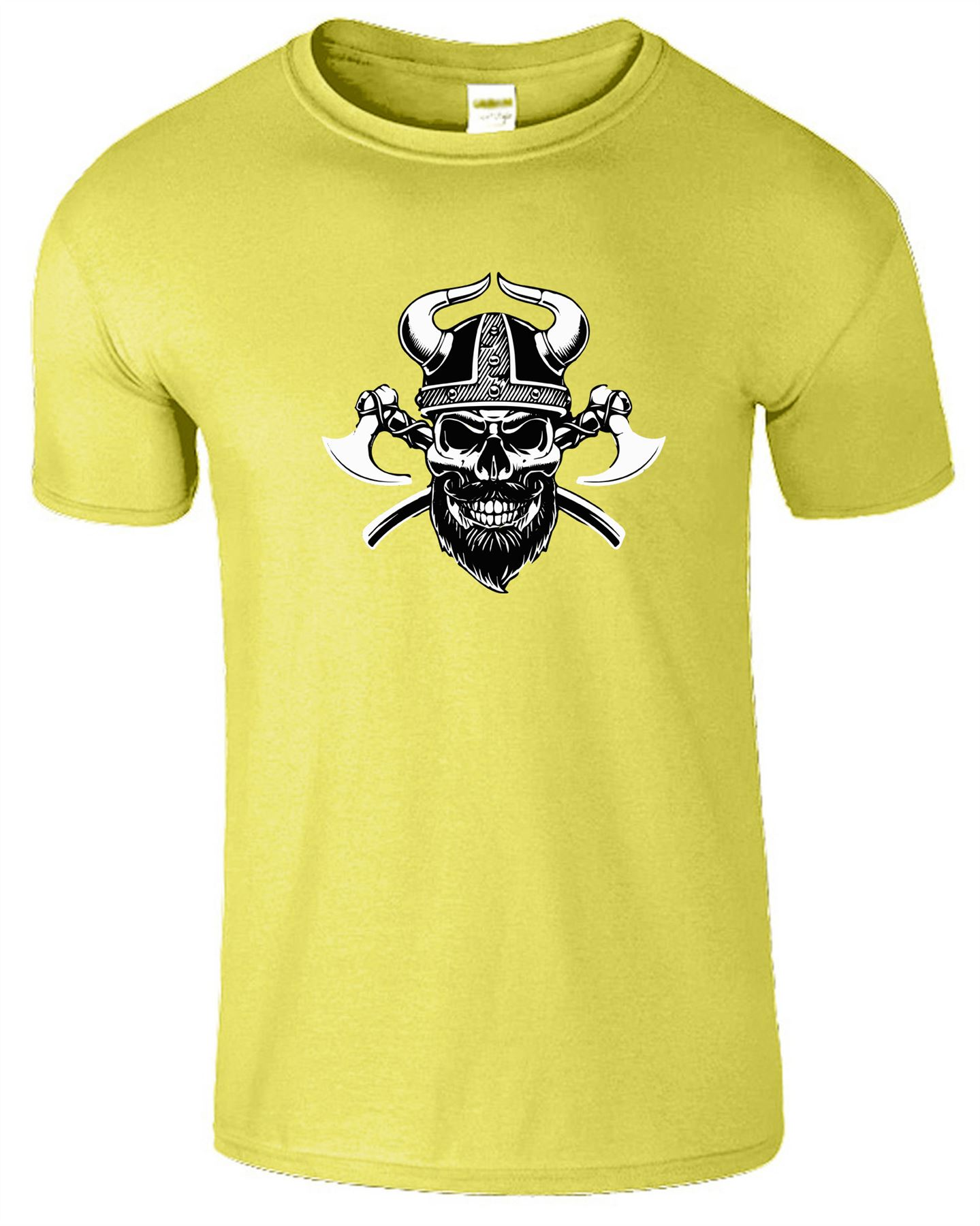 Mens Muscle Fit T Shirt Bodybuilding Crossfit Gym Top UK Seller for Viking Fans