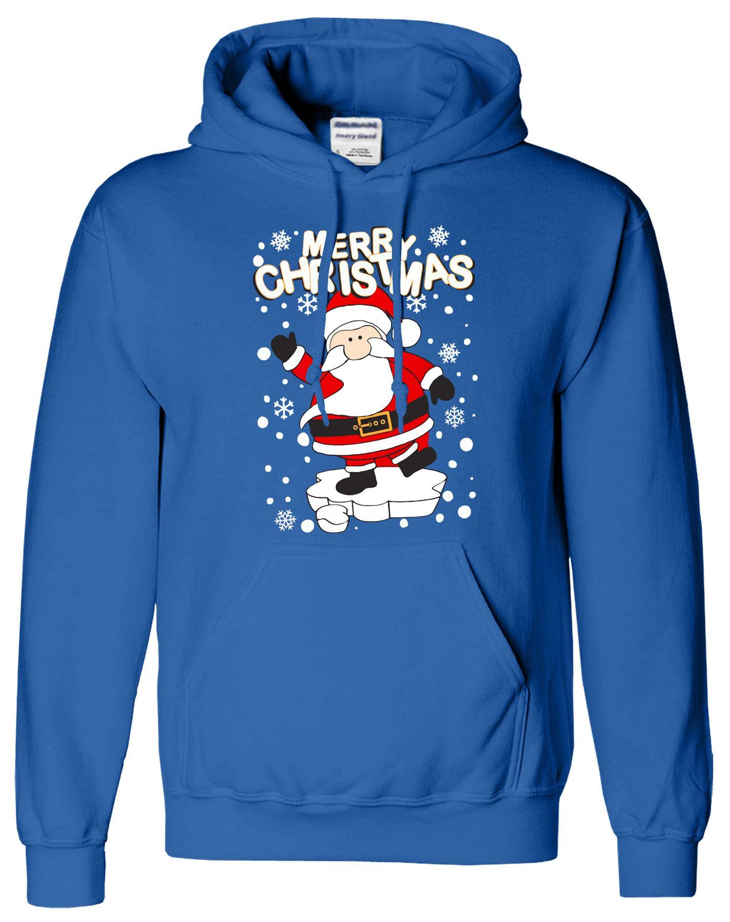 Babbo Natale Fai Da Uomo Sudore Brutto Regalo Di Natale Divertenti Novità HOS Felpa Maglione