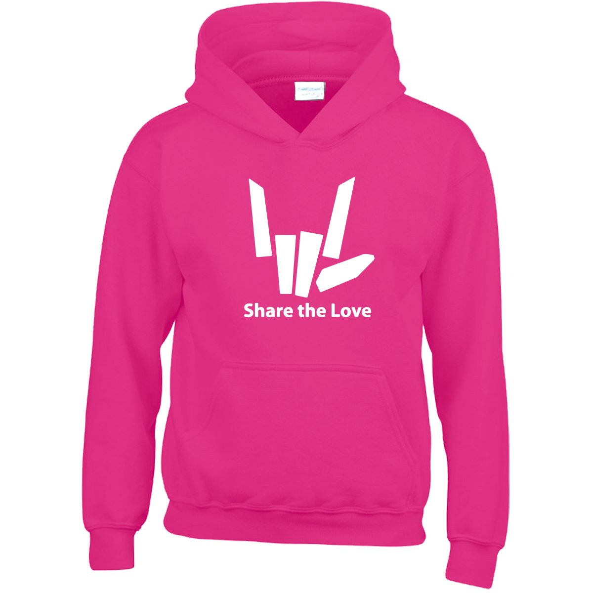Share The love Kids Hoody youtuber YouTube Stephen Sharer Boys Girls Hood