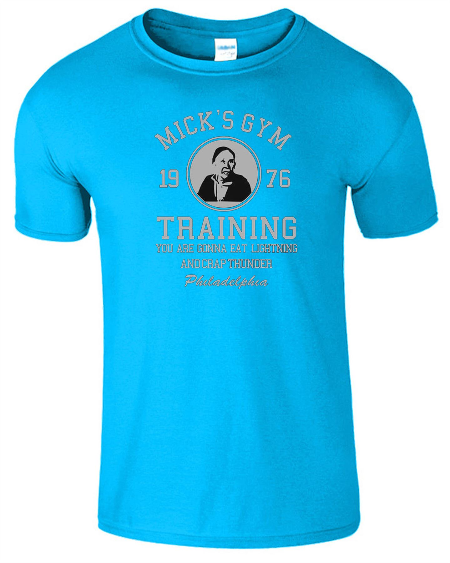 Micks Gym Mens T-Shirt Rocky Balboa Boxing Crossfit Inspired Gift Top T Shirt