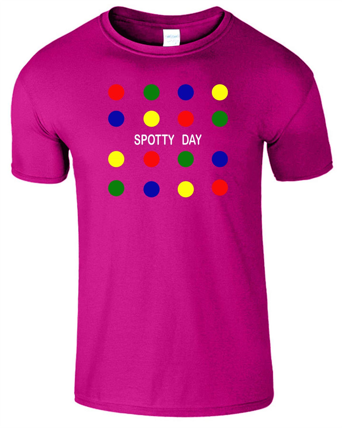 Kids Boys Girls Coloured Circles Logo T-Shirt Fancy Crew Neck Top Tee T Shirt