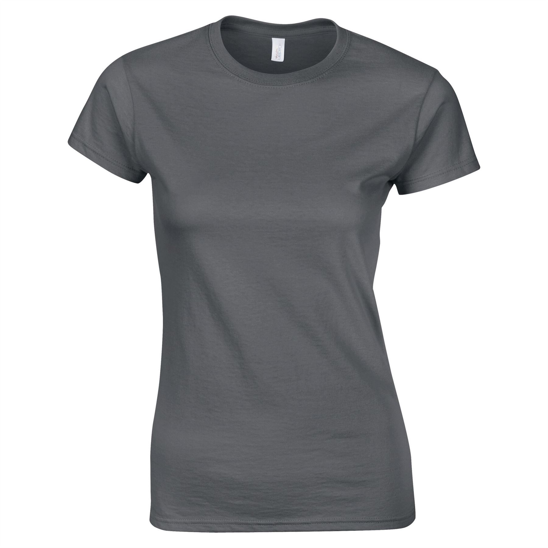 Ladies Gildan Softstyle Plain Tshirt Heavy Cotton Womens Ringspun Fit Top Tee