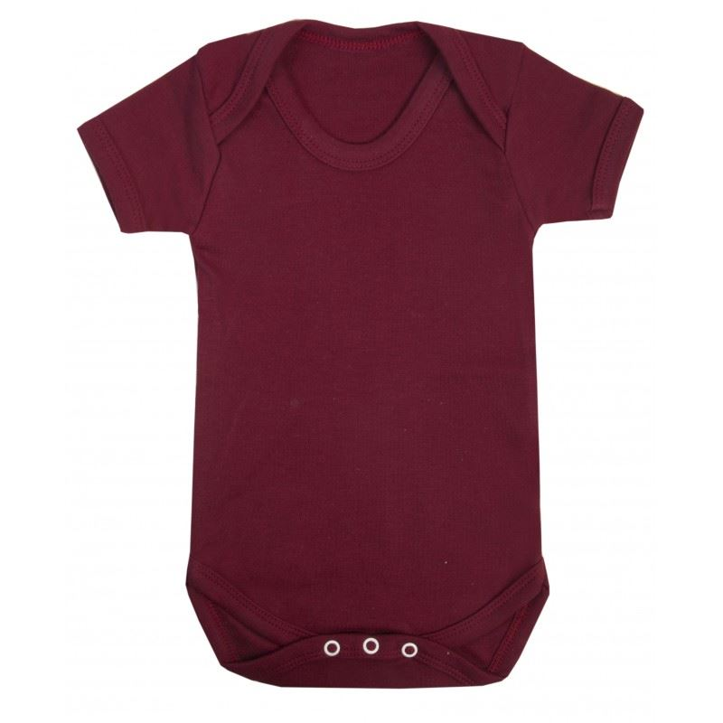Baby Grow Plain Boy Girl Vest Short Sleeve Birthday Gift Romper Newborn Bodysuit