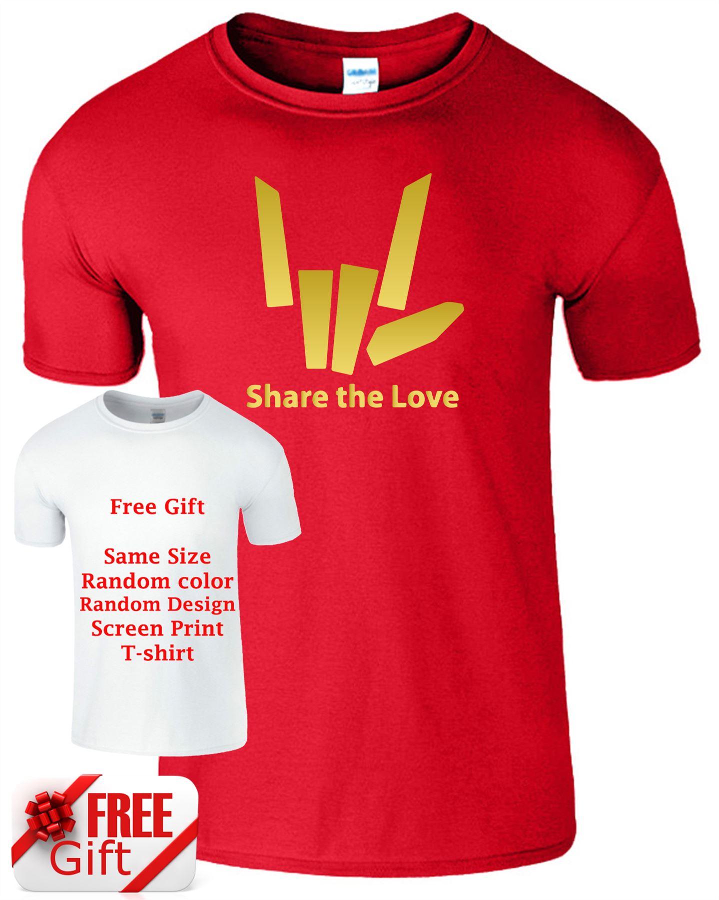 Share The Love Kids T Shirt Stephen Sharer Youtuber Boys Girls Gift Present Tee