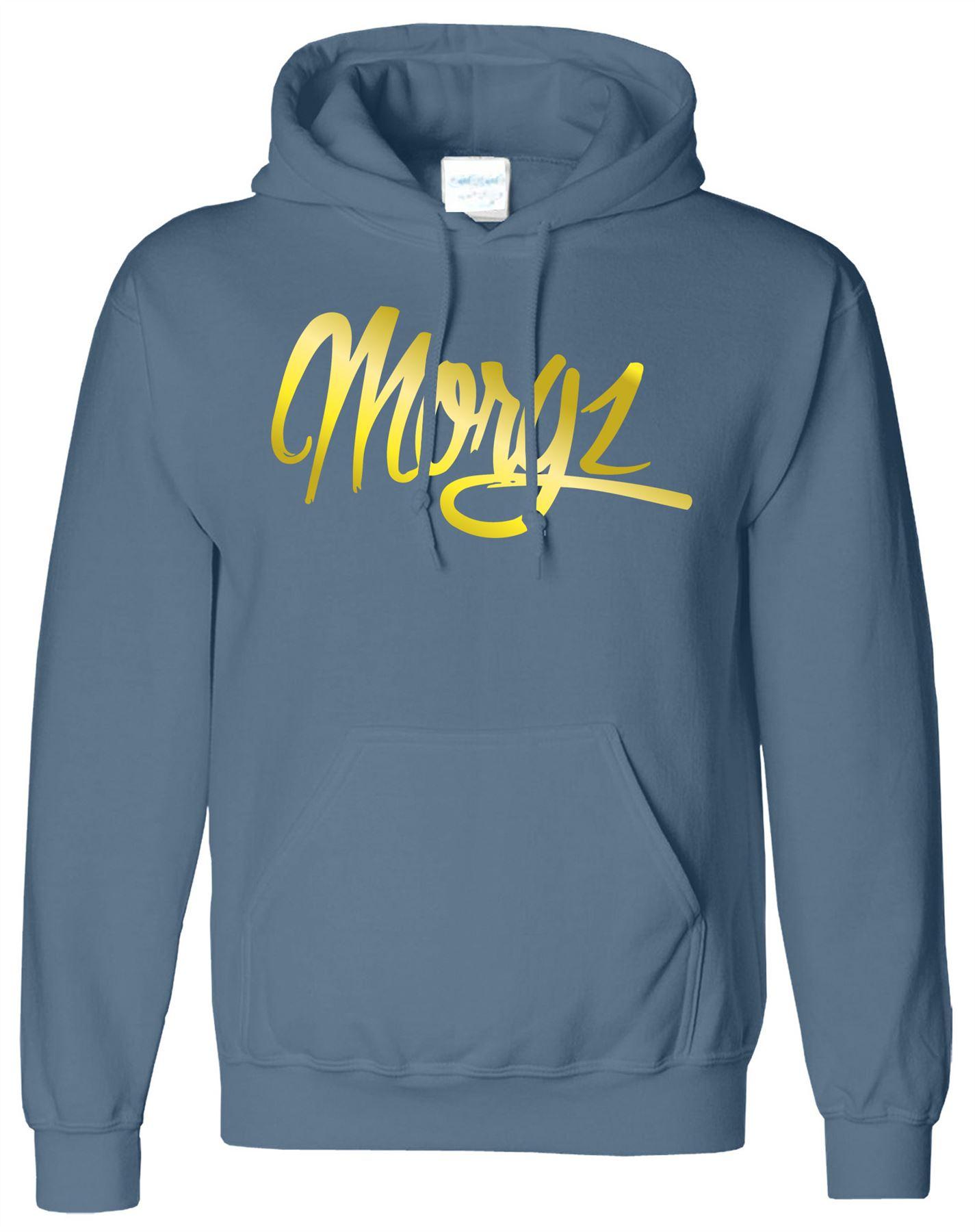 Morgz Youtuber Mens Hoodie Sweat Vlogger Teammorgz Ladies Hooded Sweatshirt