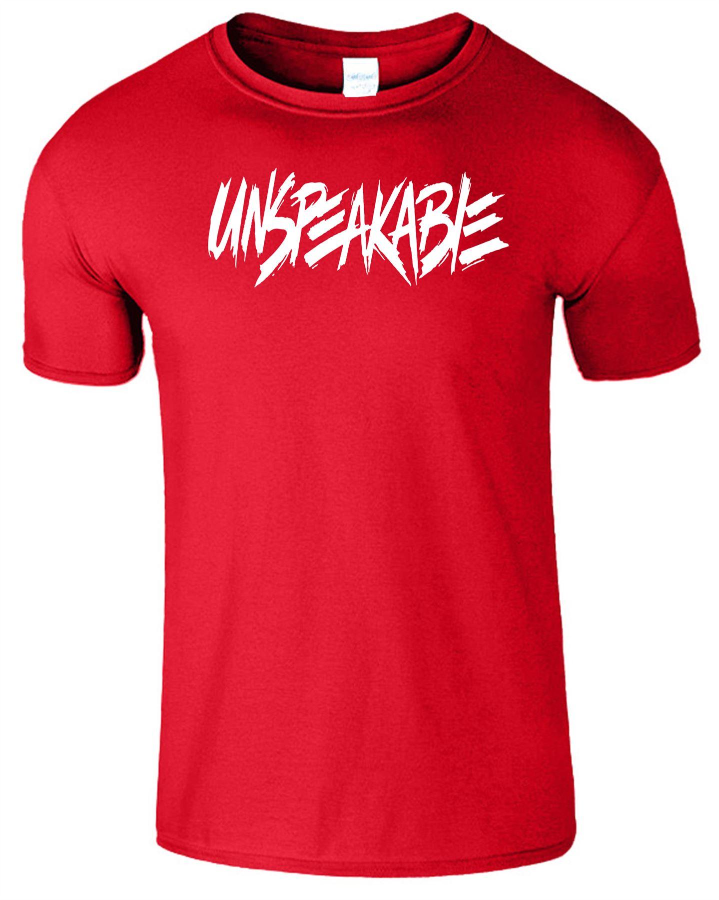 Unspeakable Mens Kids T-Shirt Youtube Gaming Lovers Boys Girls Unisex Top Shirt
