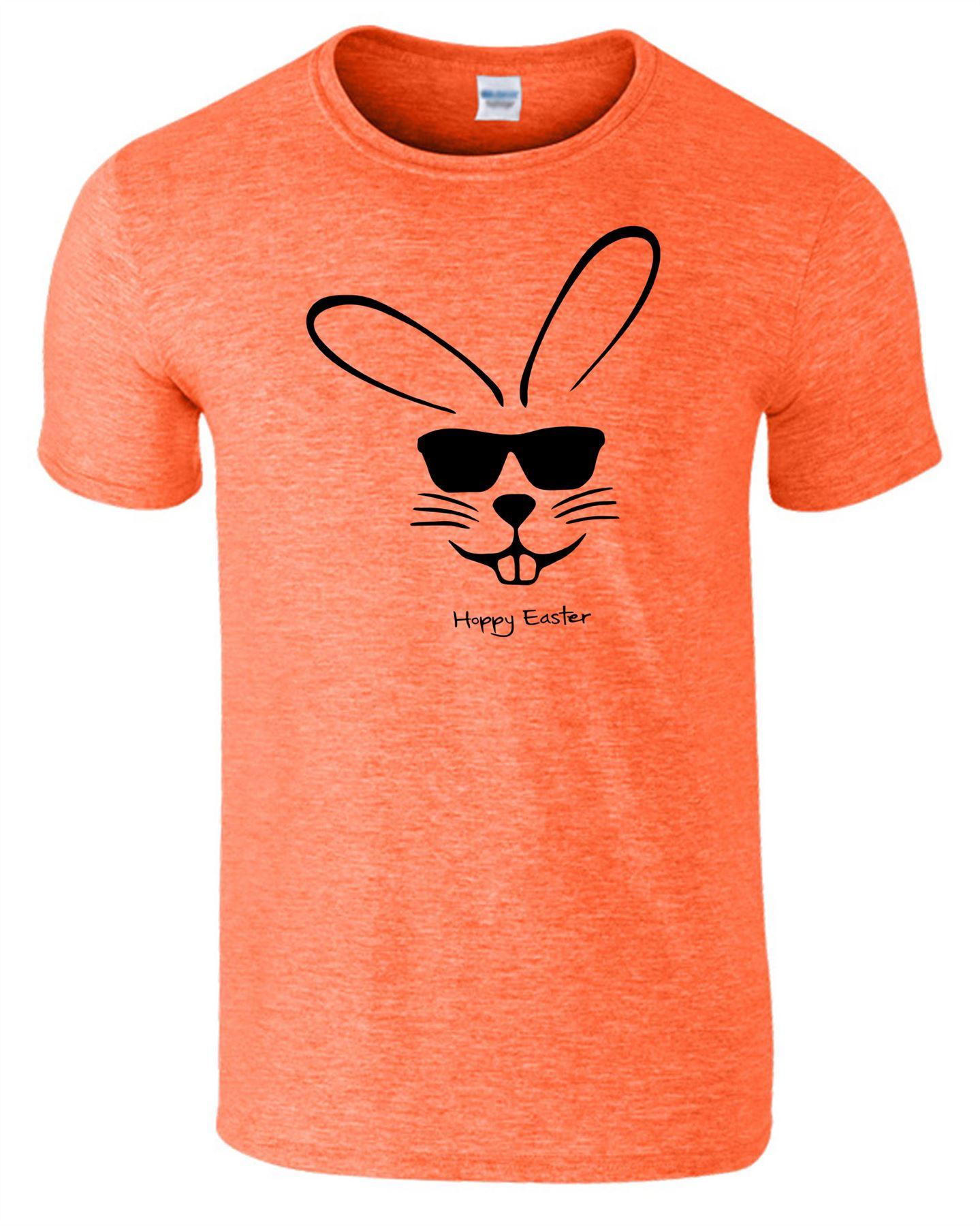 Easter Bunny Mens T-Shirt Cool Rabbit Funny Novelty Xmas Gift Unisex Tshirt