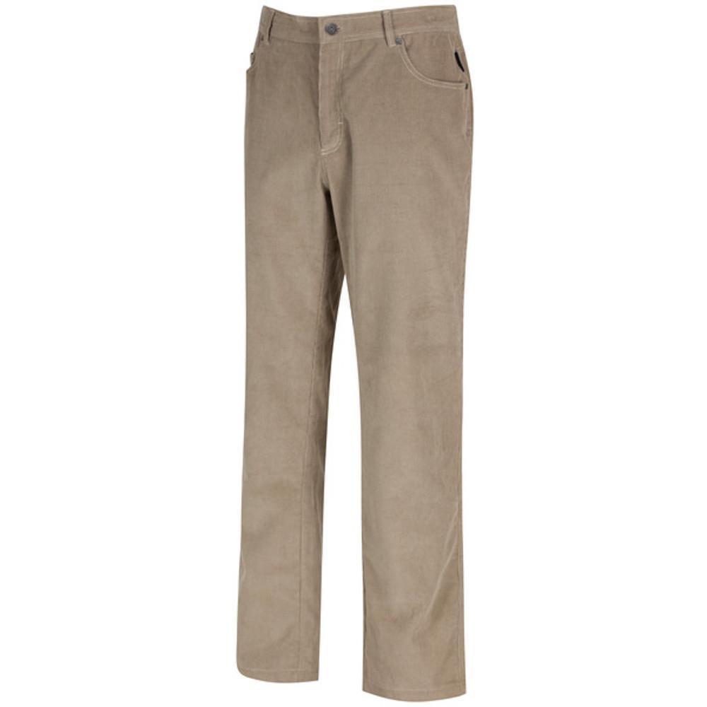 Regatta Mens Landford Coolweave Corduroy Cotton Casual Walking Trousers Regular