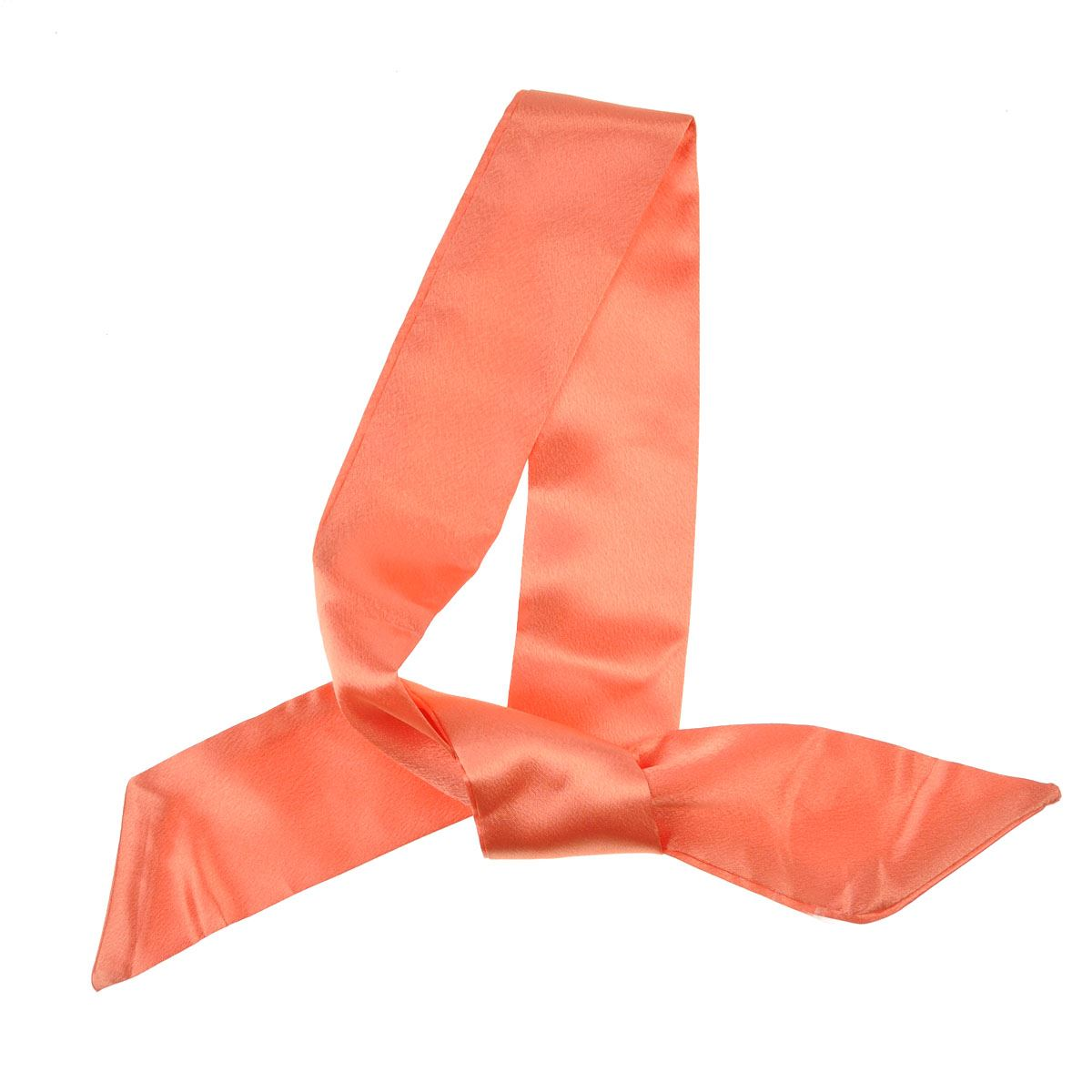 Women Retro Silky 50s Sash Twilly Plain Scarf Multi purpose  High Quality Fabric