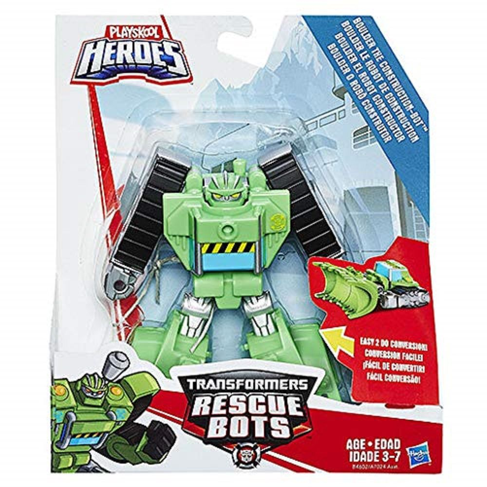 Transformers Rescue Bots Optimus prime Hot Shot Zeppa HEATWAVE Boulder Figure