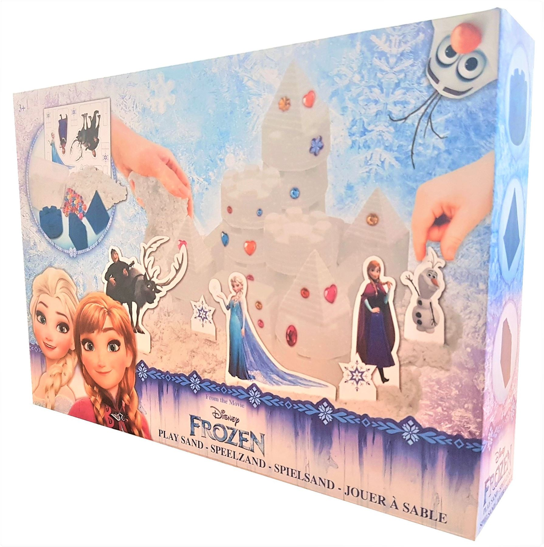 Disney Princesse Jeu De Sable Rose//Disney Frozen Play Sable Blanc