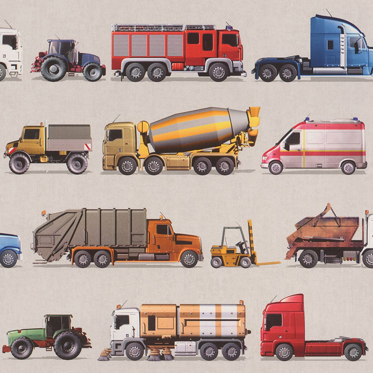 Transport And Vehicles Themed Wallpaper Borders Bedroom Feature Wall Decor Ebay