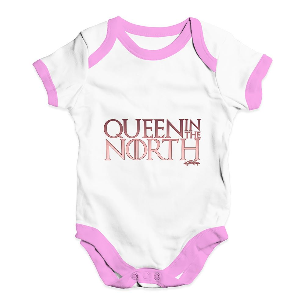 Twisted Envy Queen In The North Baby Unisex Funny Baby Grow Bodysuit