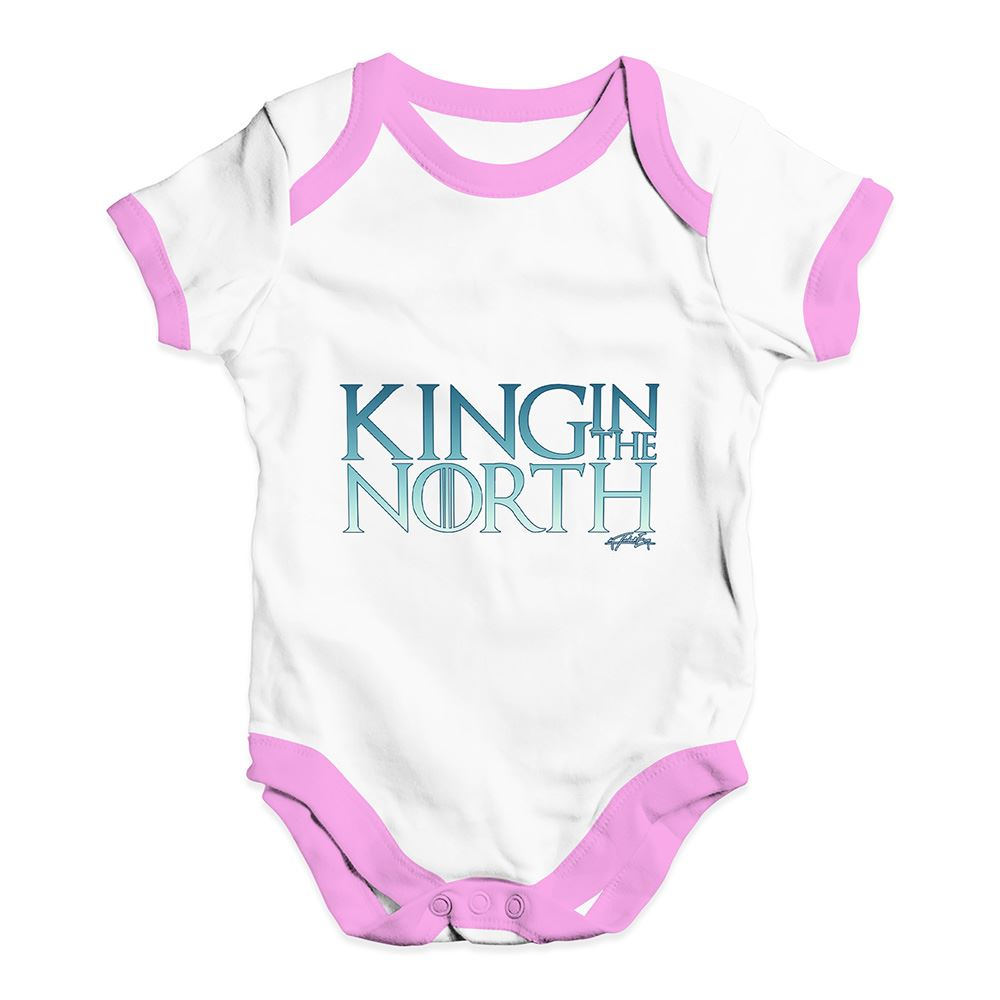 Twisted Envy King In The North Baby Unisex Funny Baby Grow Bodysuit