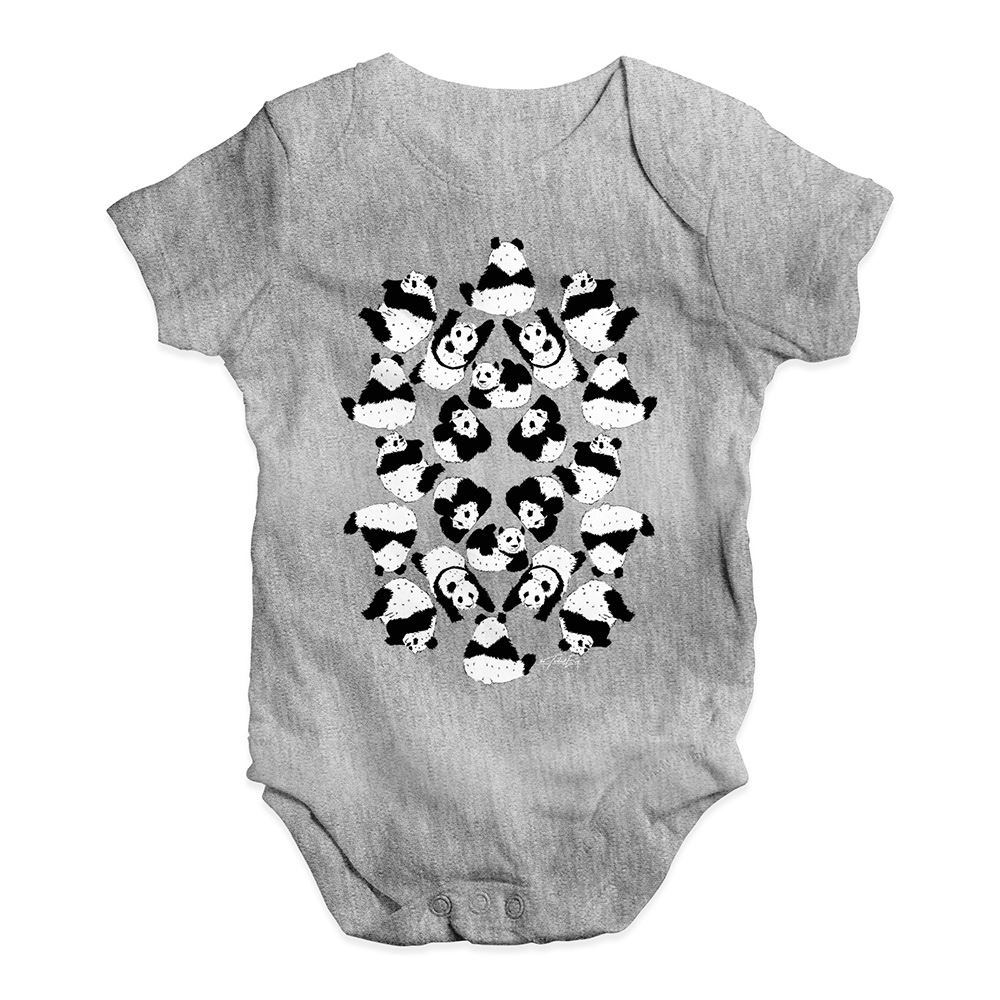 Twisted Envy Family Of Panda/'s Baby Unisex Funny Baby Grow Bodysuit