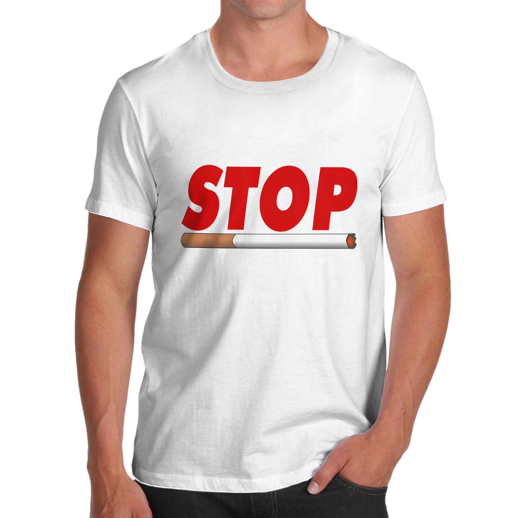 Twisted Envy Men/'s Stop Smoking T-Shirt