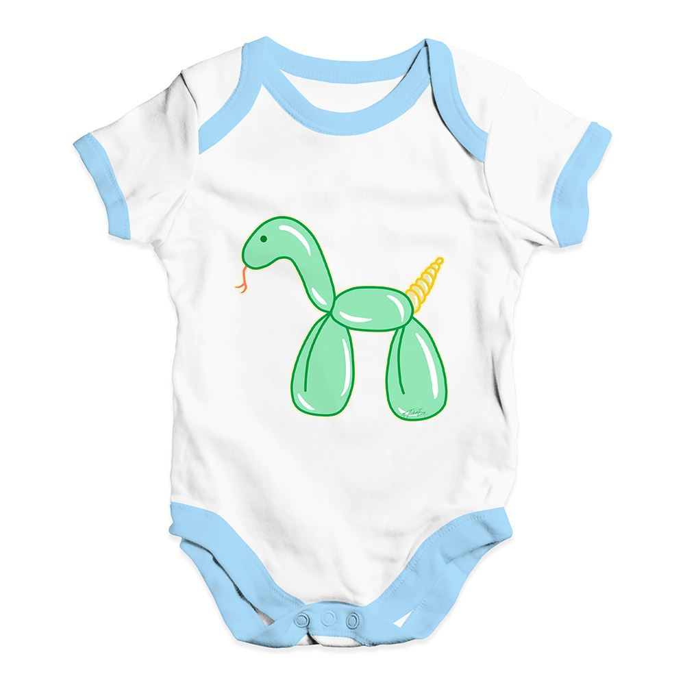 Twisted Envy Snake Balloon Animal Horse Baby Unisex Funny Baby Grow Bodysuit