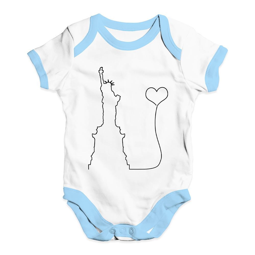 Twisted Envy Love New York Baby Unisex Funny Baby Grow Bodysuit