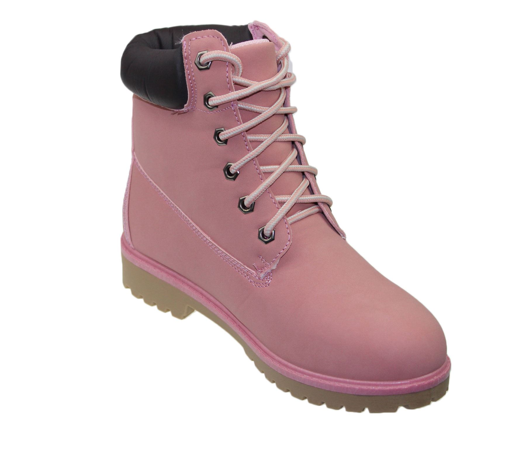 Womens High Top Boots Hiking Desert Trail Combat Ladies Ankle Work Lace Up Shoes