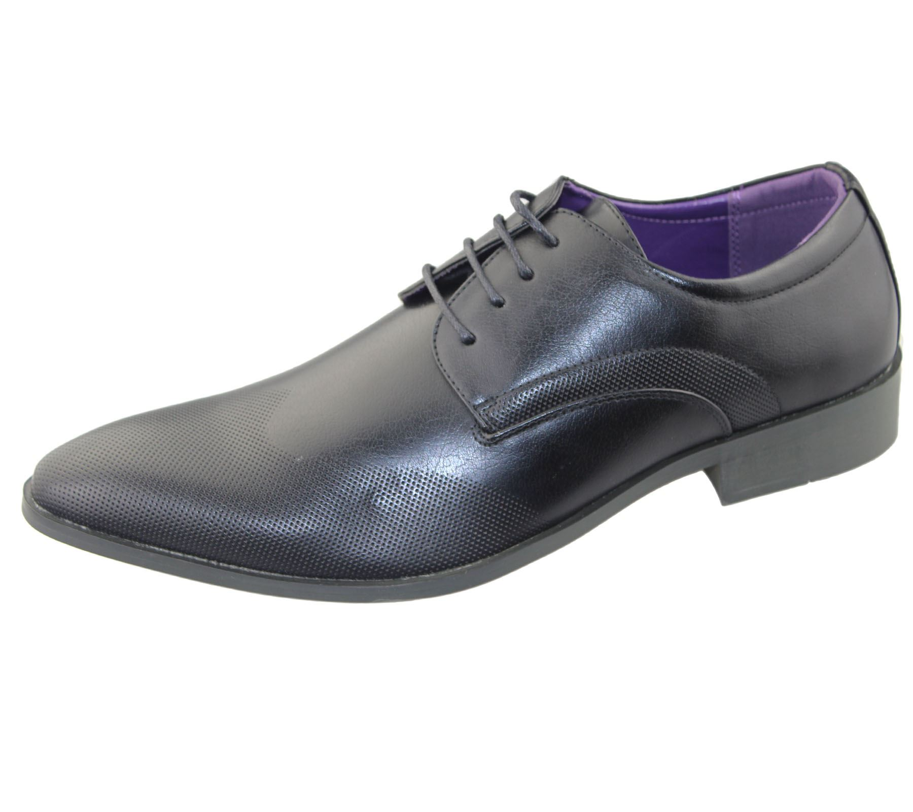 Mens Office Lace Up Brogues Shoes Wedding Casual Formal Smart Dress Shoes New