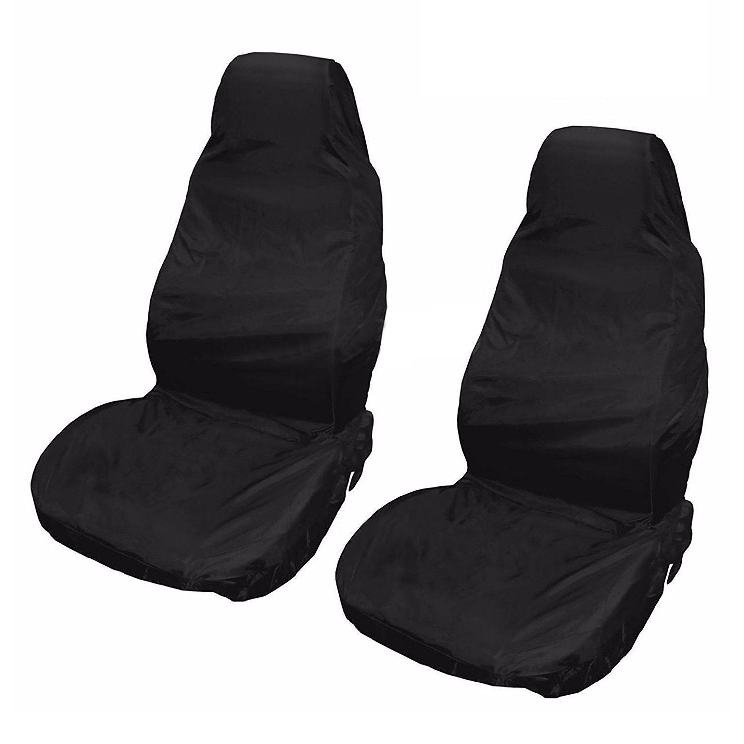 Water Resistant Front Pair of Car Seat Covers for Ford Fiesta St 12-On