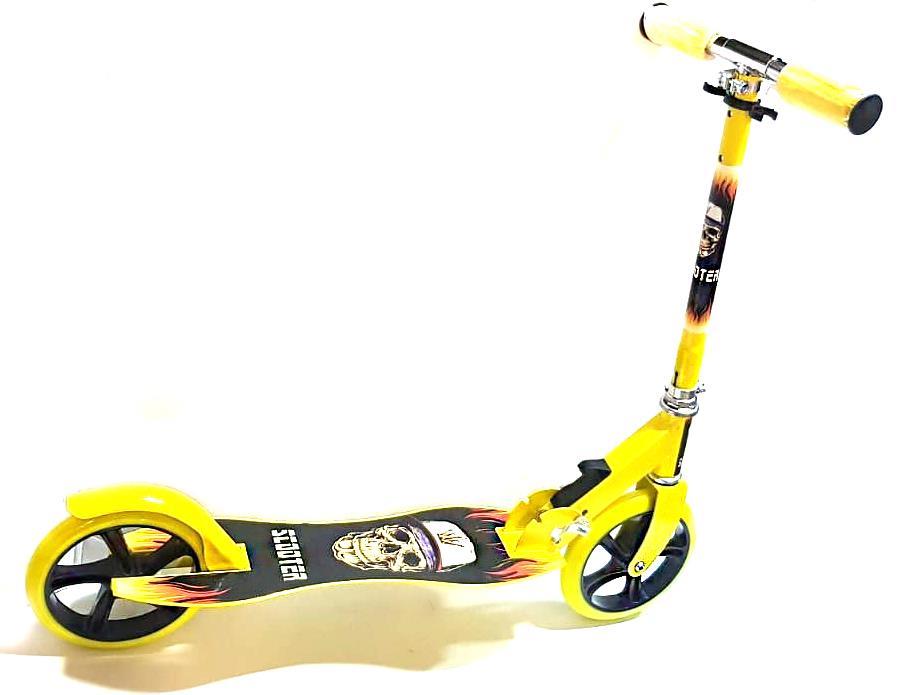 Folding Adjustable Kick Push Aluminium kid adult scooter big wheel scooter