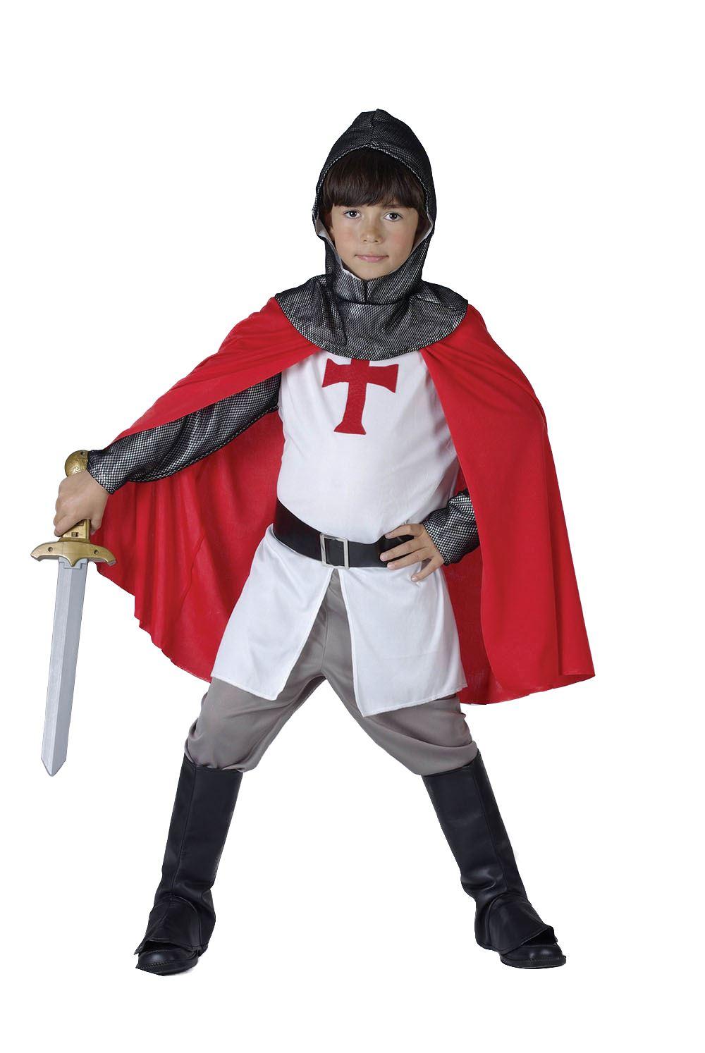 Как сшить костюм рыцаря для мальчика своими руками? 54