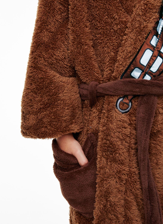 Kids Official Star Wars Jedi Yoda Plush Fleece Bathrobe Boys Girls Dressing Gown