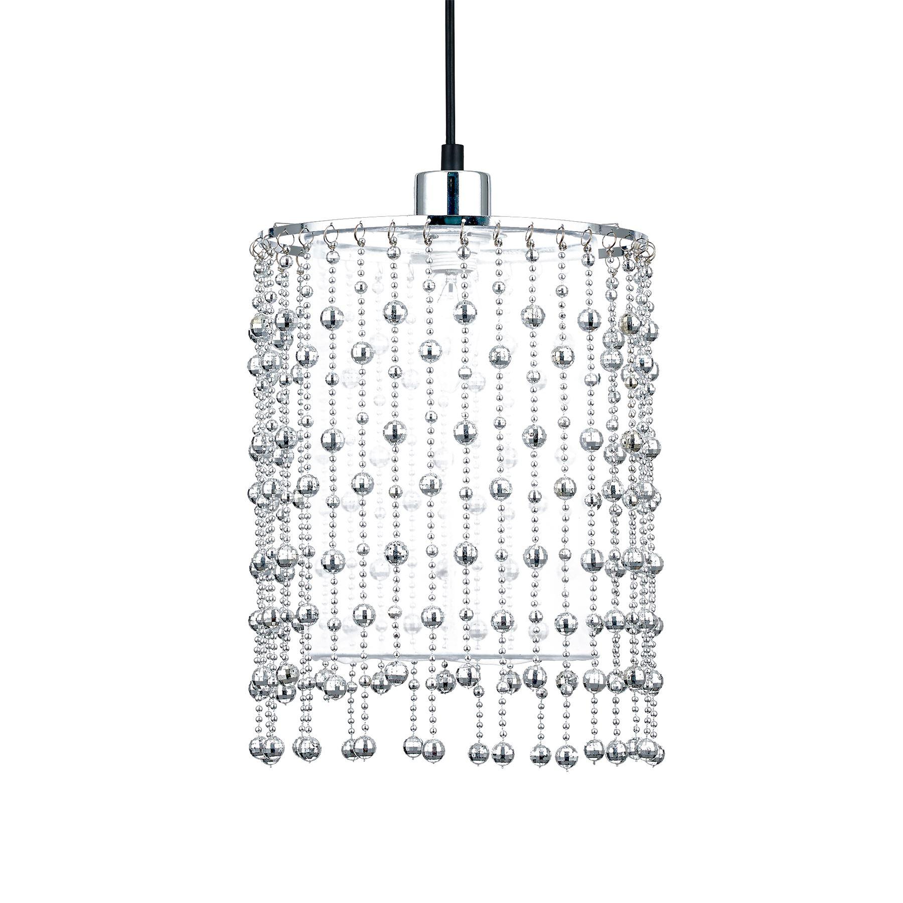 Ceiling Floor Pendant Chandelier Light Lamp Shades Modern Crystal Drop