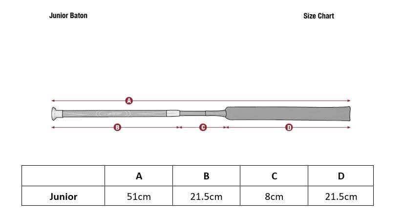 LeMieux Junior Pro Baton Jump Whip 50cm