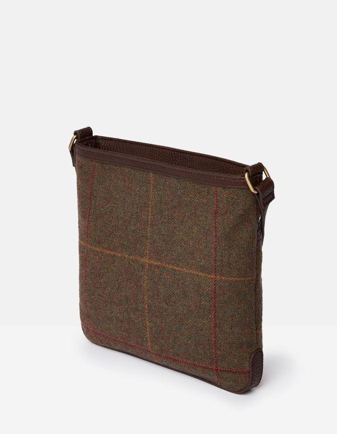 Bag Joules Uxhall Tweed Small Cross Body Pouch AW19