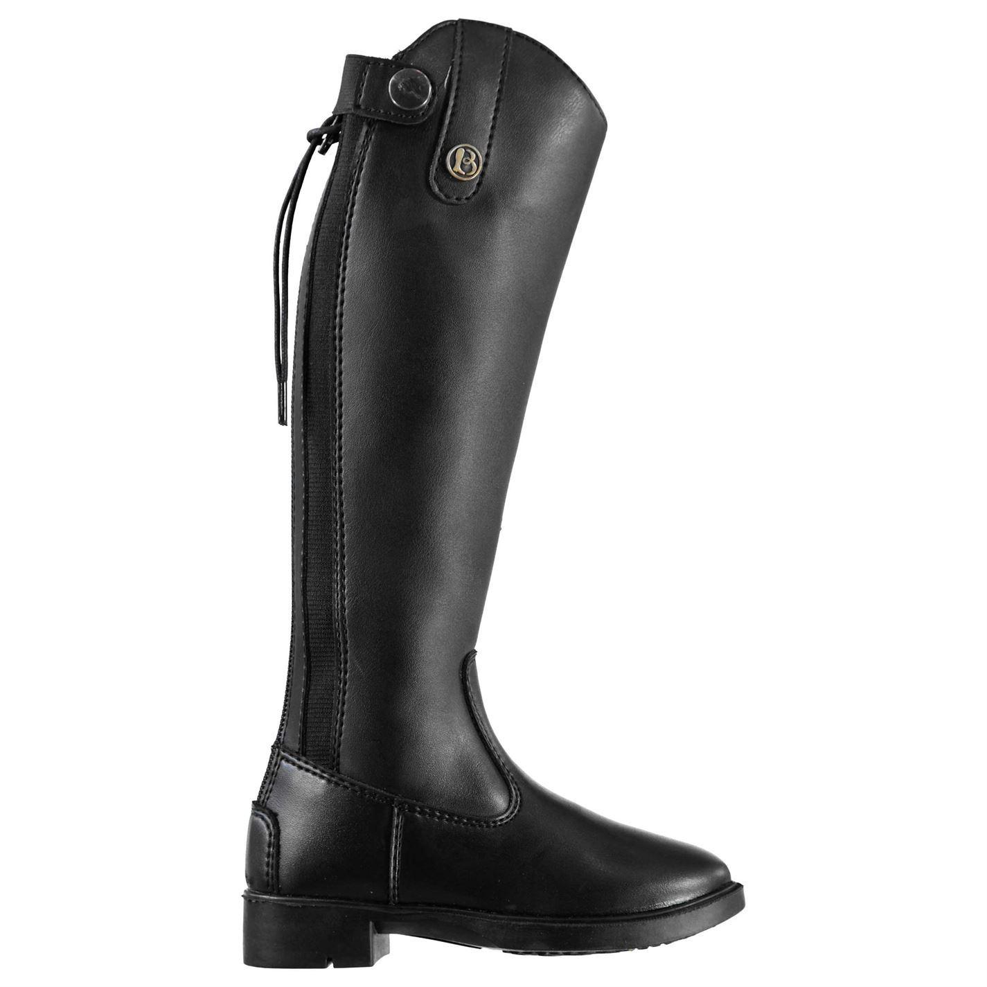 Brogini Kids Modena Piccino Shoes Flexible Zip Long Riding Boots Equestrian