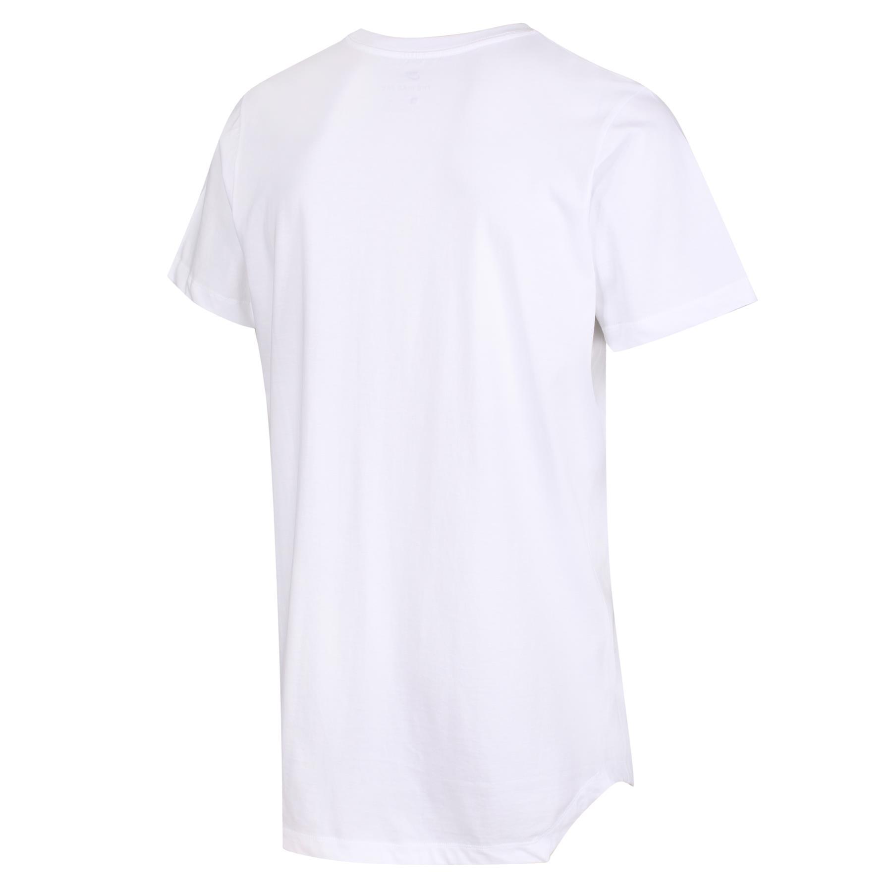 NIKE MEN/'S MODERN TALL TEE T-SHIRT WHITE BLACK RETRO VINTAGE SUMMER NEW