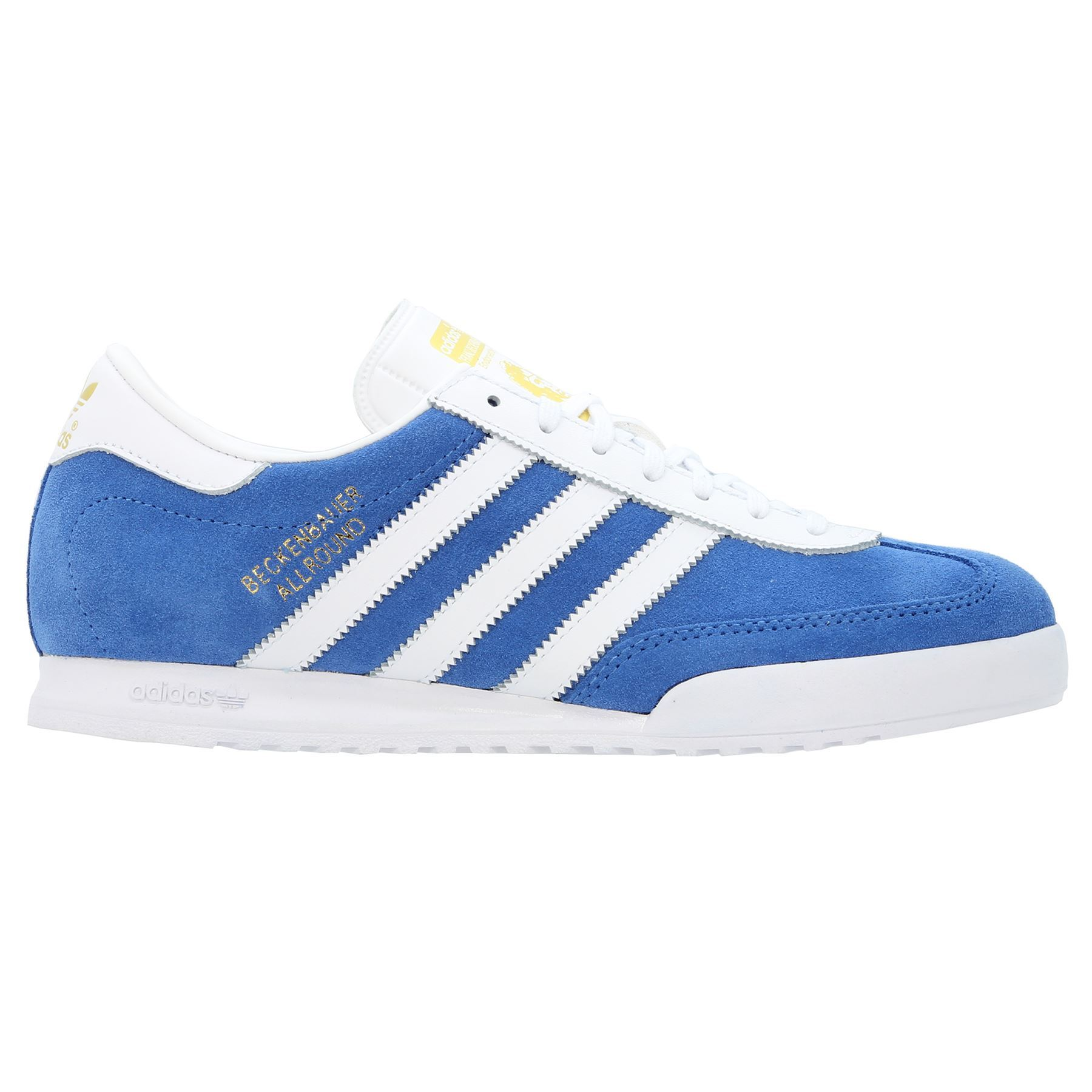 adidas ORIGINALS MEN/'S BEACKENBAUER ALL ROUND TRAINERS SHOES RETRO BLUE BROWN