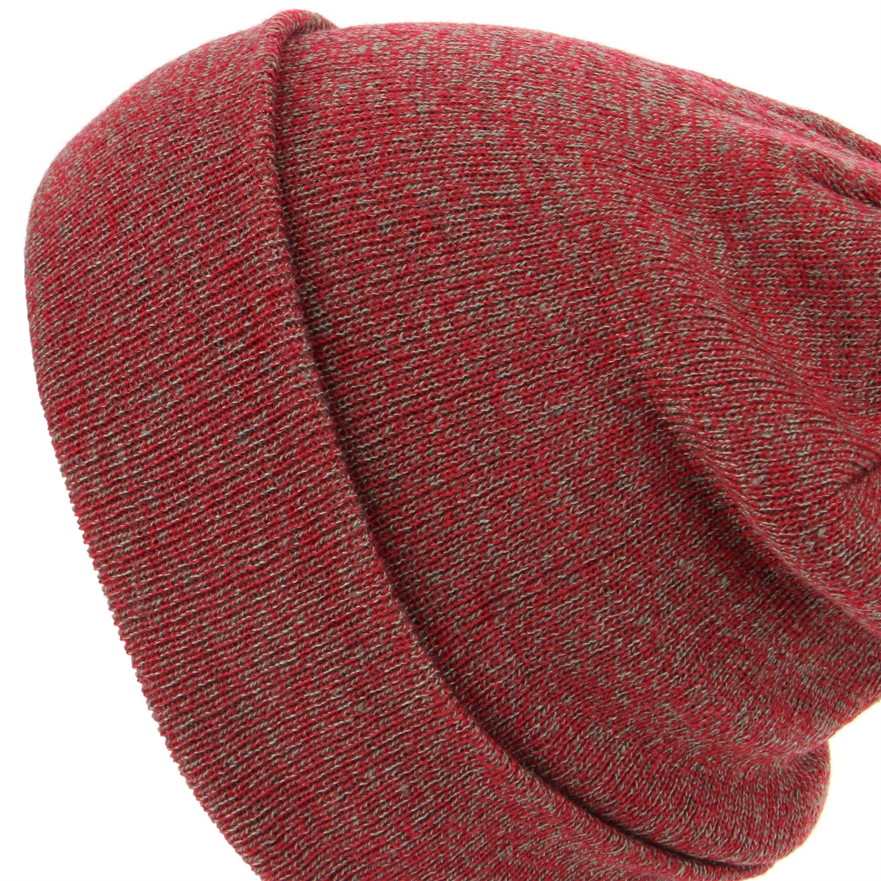 Beanie Hat Cap Warm Winter BLACK BLUE RED Marl Hawkins Men Ladies Knit Unisex
