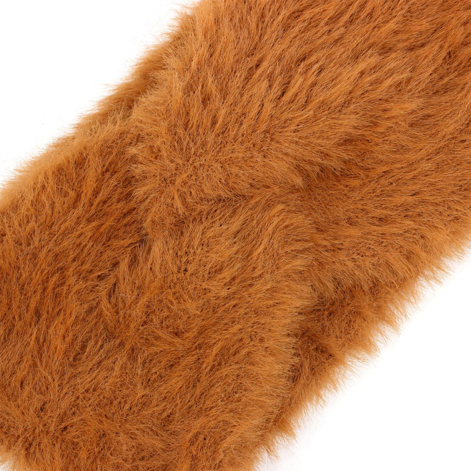 Faux Fur Twisted Bowknot Headband Macahel Hairband Womens Hair Hat Ski