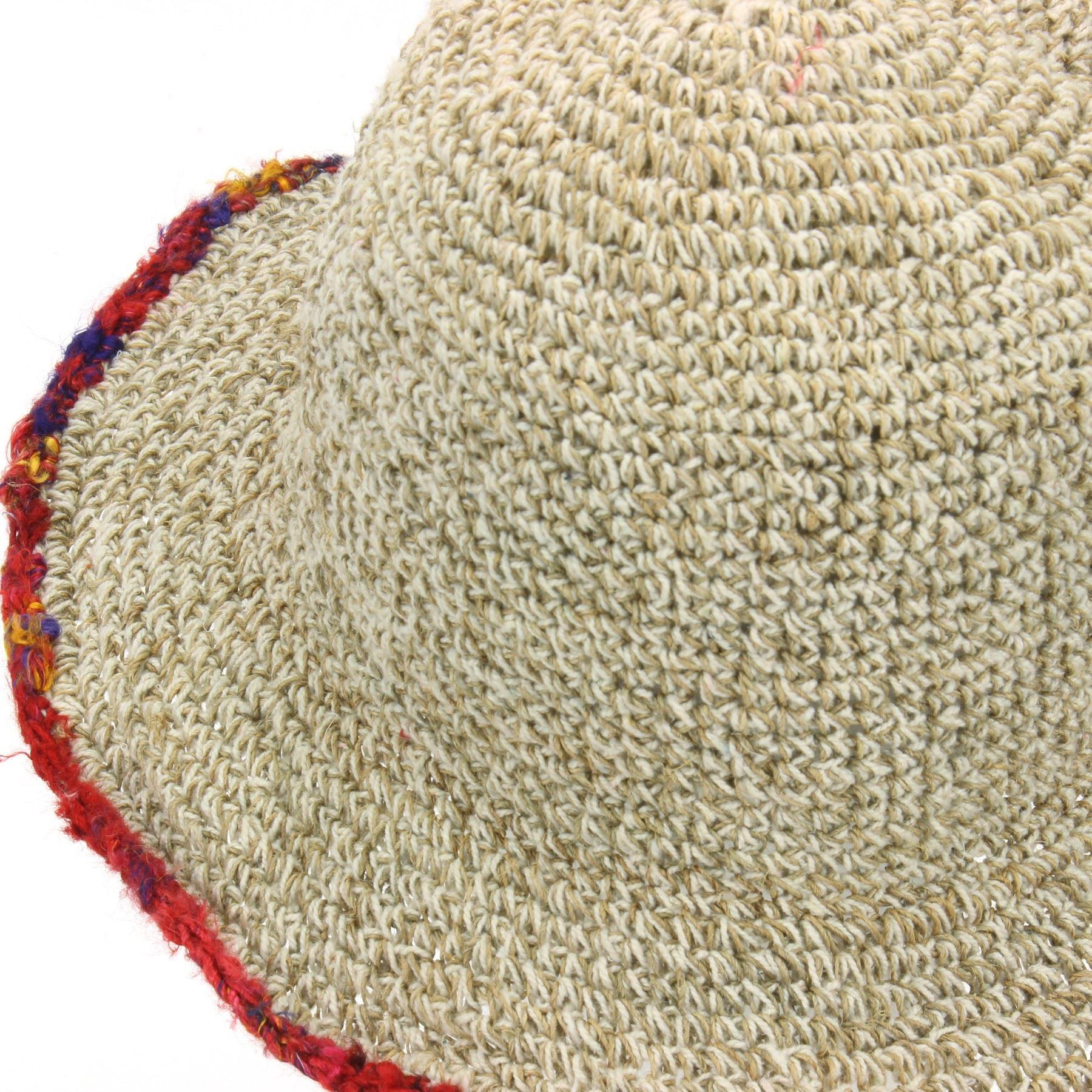 Sun Hat Hemp Cotton Summer LoudElephant Brim Beach Cap Boho Hippie